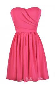 pink dress hot pink party dress pink dress hot pink cocktail dress