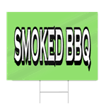 bbq chicken block lettering sign signstoyou com