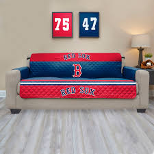 Quilted Sofa Covers Red Sox Quilted Sofa Cover