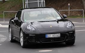 Porsche Panamera Facelift - spied porsche panamera goes under the knife for a mild facelift