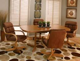 Caster Dining Room Chairs And Tables - Caster dining room chairs