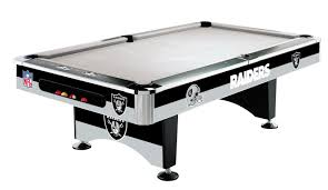 Logo Table Cloth by Oakland Raiders Pool Table