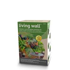 wall mounted herb garden amazon com dig u0027s living wall modular vertical garden planting kit