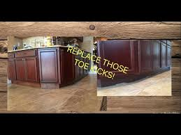 how is a cabinet toe kick kitchen cabinet repair
