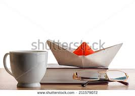 The Book Is On The Table Coconut Cocktail Drink Stock Vector 98669939 Shutterstock
