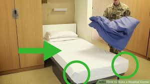 3 ways to make a hospital corner wikihow
