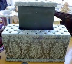 upholstered ottoman hidden tv solutions in shop home picture 3