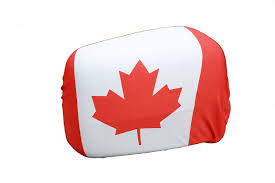 Dimensions Of Canadian Flag Canada Country Flag Car Side Mirror Covers 2 In A Pack New