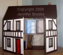 Free Miniature Dollhouse Plans by Lbdh Intro Page