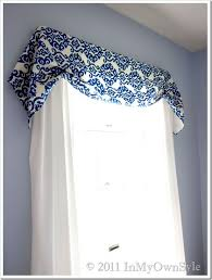 How To Make Your Own Kitchen Curtains by Best 20 No Sew Valance Ideas On Pinterest Kitchen Curtains