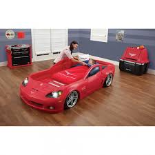 corvette car bed for sale 2 race car bed replacement stickers bedroom sets pink