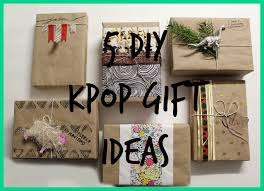 diy kpop gift guide regalos para fans de kpop kpop crafts and