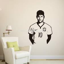 Wall Decal For Living Room 9410 Art Wall Stickers Neymar Diy Home Decorations Wall Decals