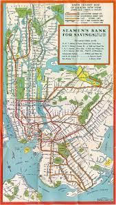 Manhatten Subway Map manhattan new york subway map u2013 1930 subway map of manhattan new
