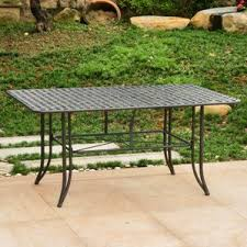 Patio Table With Built In Heater Patio Tables You U0027ll Love Wayfair