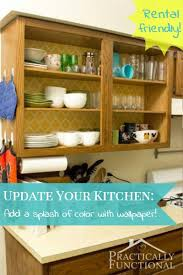 How To Update Your Kitchen Cabinets by Update Your Rental Kitchen Tips And Tricks
