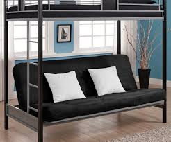 Bunk Bed With Sofa And Desk Grande Bunk Bed Along With Futon Wood Futon Bunk Bed Design Bunk