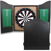 black dart board cabinet darts dart cabinets surrounds river city games