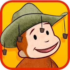 award winning curious george books games kids
