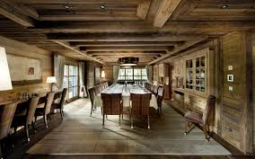 Ski Chalet Interior One Of A Kind Luxury Ski Chalet In Courchevel 1850 France Blog