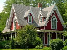 Gothic Revival House 1867 Gothic Revival Tiskilwa Il 70 000 Old House Dreams