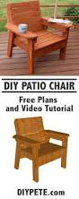 Morris Chair Plans Howtospecialist How by Learn How To Build A Patio Chair This Is A Fun And Simple Project