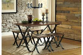 Ashley Dining Room by Freimore Dining Room Table And Stools Set Of 5 By Ashley