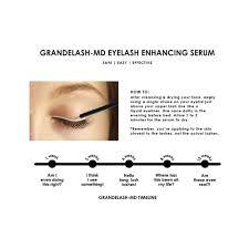 Blu U Before And After Amazon Com Grande Cosmetics Grandelash Md 3 Month Supply 2ml