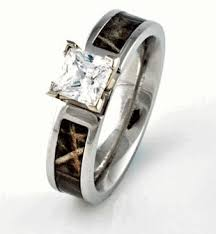 Mens Hunting Wedding Rings by