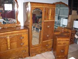 1940s bedroom furniture art deco bedroom set 1930s 1940s waterfall furniture 3 furniture