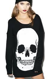 skull sweater iron skulls sweater dolls kill