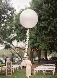 large white balloons australian wedding tamara andrew real weddings 100 layer cake