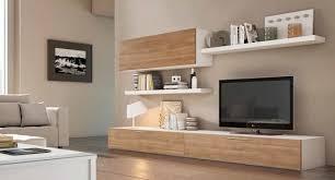 salas living room wall units fotos de salas de estar modernas por crea y decora muebles living