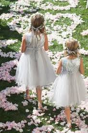 lovely taffeta a line flower girls dresses f1126 bridesmaid