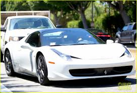fake ferrari 458 kylie jenner takes tyga for a spin in her new ferrari photo