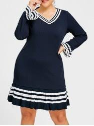 plus size sweater dresses long and maxi cheap with free shipping