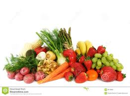 fresh fruits and vegetables stock photography image 8919682
