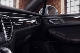 porsche macan interior 2017 the porsche macan turbo now has an exclusive performance edition