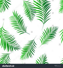 vector palm tree green pattern seamless stock vector 722267716