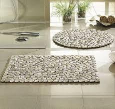 floor decorations home 2 home decor diy river rock floor mats