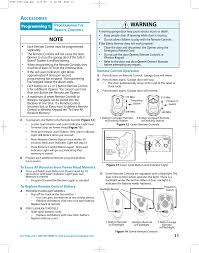 Overhead Door Programming Remote 315390r2 Garage Door Remote Receiver User Manual 2060 3060