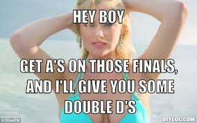 Double Picture Meme Generator - kate upton motivational meme generator hey boy get a s on those