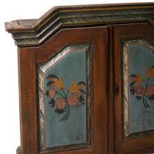 Swedish Painted Furniture Antique Swedish Painted Pine Hanging Wedding Cupboard Eron