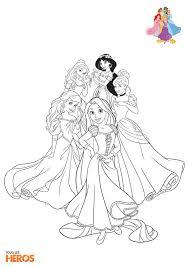 coloriez les princesses de disney coloriage sur www tous les