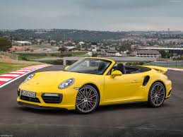 porsche spyder yellow porsche 911 turbo cabriolet 2016 pictures information u0026 specs