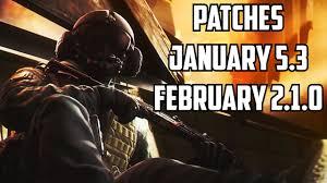 Patch 5 4 Siege Rainbow Six Siege January February Patch 5 3 Update 2 1 0