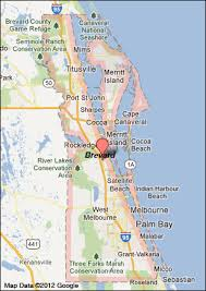 Florida Map Of Cities And Counties Brevard County Florida Map