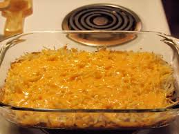 cheesy bbq beef hash brown bake and a giveaway tramplingrose