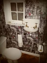funky bathroom wallpaper ideas 10 best cloakroom images on bathrooms home ideas and