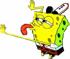 spongebob lick gifs search find make share gfycat gifs